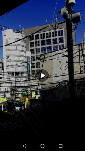 「動画編集&加工」で明るさを調整したビデオ